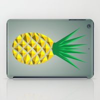 pineapple iPad Cases featuring Pineapple by mailboxdisco
