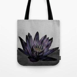 Black Lotus Watercolor Digital Art 4 Tote Bag
