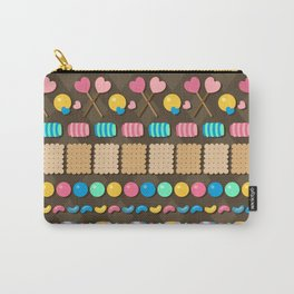 Sugar Madness Pattern Carry-All Pouch