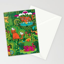 Lords of the Jungle Stationery Cards