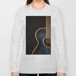 Acoustic Guitar Colour Long Sleeve T-shirt
