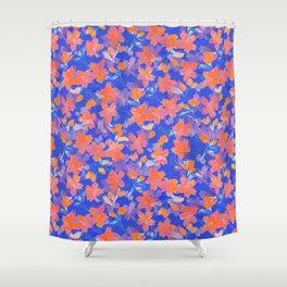 Japanese Garden: Blossoms LT Shower Curtain