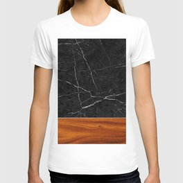 Marble and Wood T-shirt