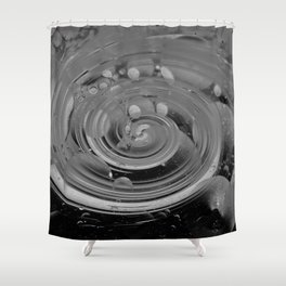 bubble + twirl Shower Curtain