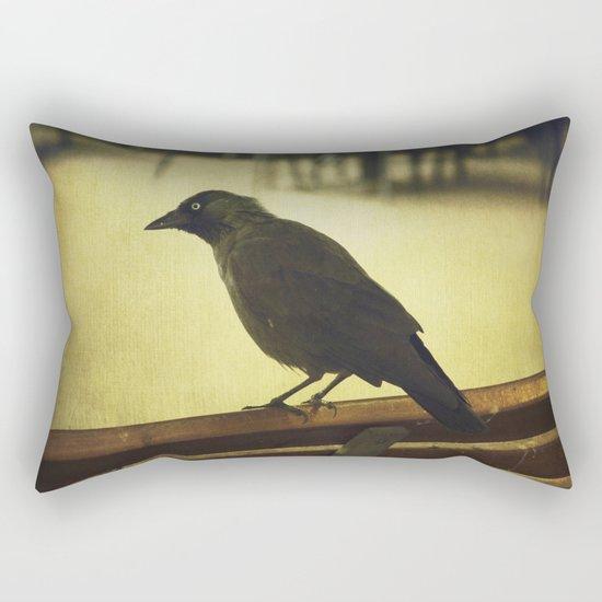 Watch the birdie Rectangular Pillow
