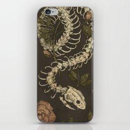 Snake Skeleton iPhone Skin