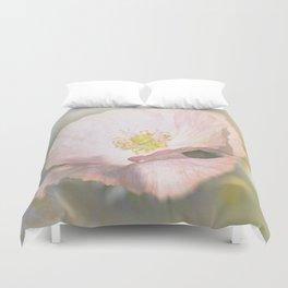 Light pink Flower Duvet Cover