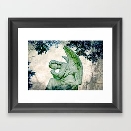 Angel's Thoughts Framed Art Print