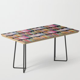 Vintage Book Library for Bibliophile Coffee Table