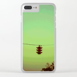Stoplight Clear iPhone Case