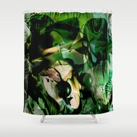witchcraft Shower Curtains featuring Witchcraft by Artwork-Fusions