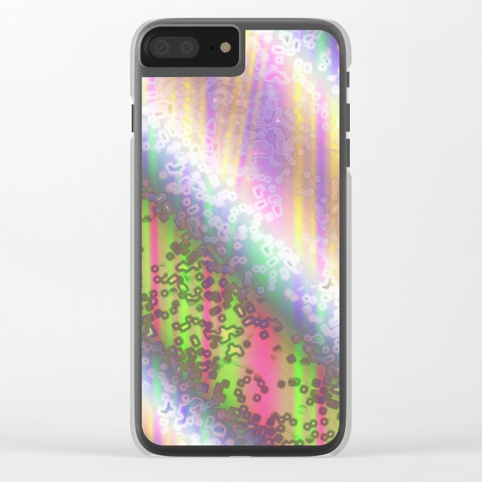 Colours ZD Clear iPhone Case