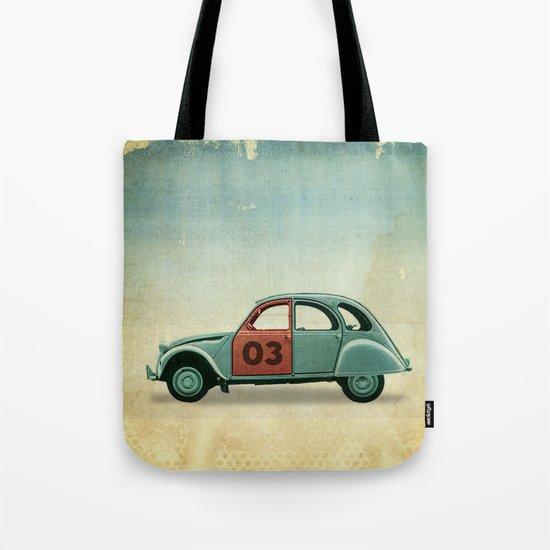 Number 03 _ Citron 2CV Tote Bag