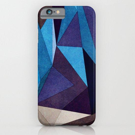 Blue Something iPhone & iPod Case