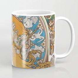 HD- Alphonse Mucha - Zodiac / HIGH DEFINITION Coffee Mug