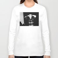 zombies Long Sleeve T-shirts featuring Zombies by Late Nite Draw