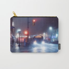 foggy night blues Carry-All Pouch