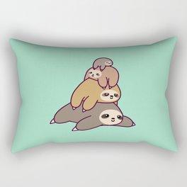 Sloth Stack Rectangular Pillow