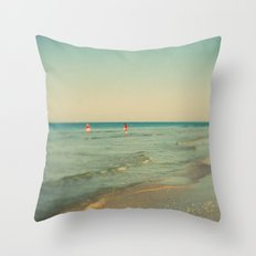 Lido #2 Throw Pillow