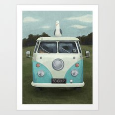 Along for the Ride Art Print