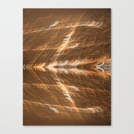 Electricity Takes Flight Canvas Print