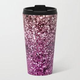 Sparkling BLACKBERRY CHAMPAGNE Lady Glitter #2 #decor #art #society6 Travel Mug