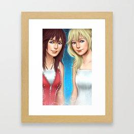 Kingdom Twins Framed Art Print