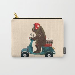 scooter bear Carry-All Pouch