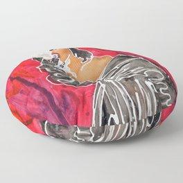 Blunts & Leather Floor Pillow