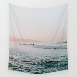 summer waves Wall Tapestry