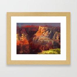 Great Divide Framed Art Print