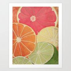 Citrus 1 Art Print