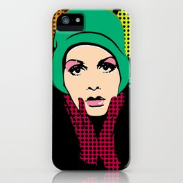 """Twiggy Pop Color"" iPhone Case"