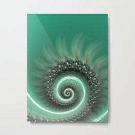 Jump Into My Whirlpool Metal Print
