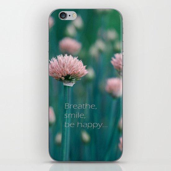 Blue Field iPhone & iPod Skin