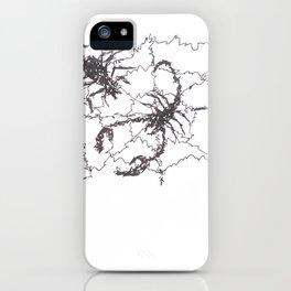 Spider vs Scorpion iPhone Case