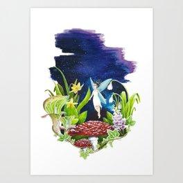 Little Eden Art Print