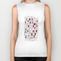 text Biker Tanks featuring text by Ivano Nazeri