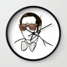 Elton Rock Icon Silhouette Wall Clock