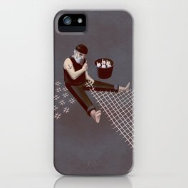 The Hastag Net iPhone Case