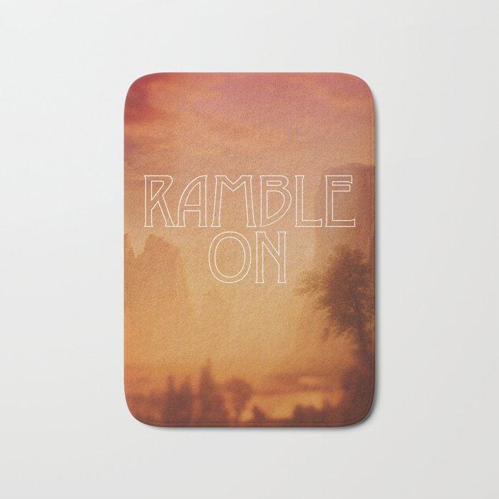 Ramble On Bath Mat