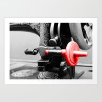 sewing Art Prints featuring Sewing Machine by Four Hands Art