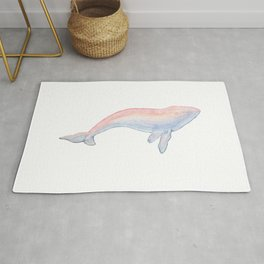 Les Animaux: Humpback Whale Rug