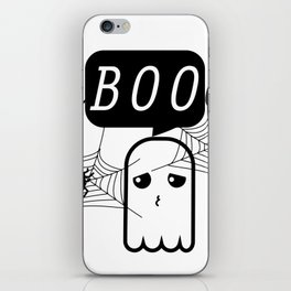 Faboolous - Cute Halloween Boo Yall Spider and Ghost iPhone Skin