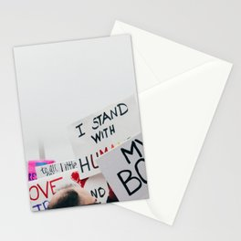 Women's March Stationery Cards