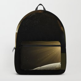 moon lens flare Backpack
