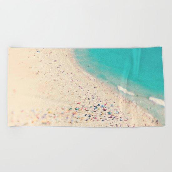 beach love III - Nazare Beach Towel