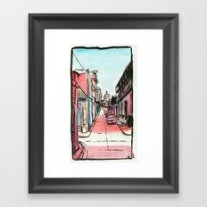 Street of the Cap Framed Art Print