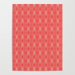 hopscotch-hex sherbet Poster