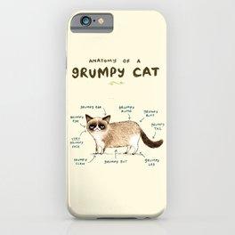 Anatomy of a Grumpy Kitty iPhone Case